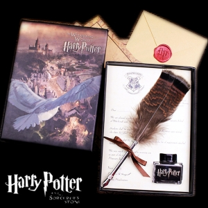 Harry Potter - Feather Pen Set (ของแท้)