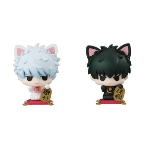Petit Chara Land Gintama: A Fortune Cat on a Desk Set 2 (ของแท้)