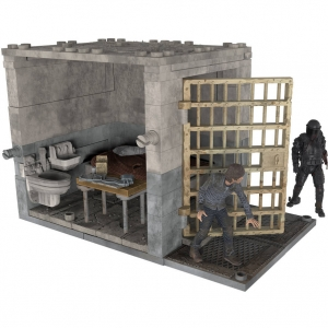 McFarlane Toys - The Walking Dead - Lower Prison Cell (ของแท้)