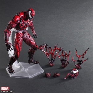 Play Arts Kai - Venom Limited Color Version Carnage