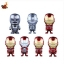 Iron Man Mark I - VII Cosbaby (S) Series (Set of 7) thumbnail 1
