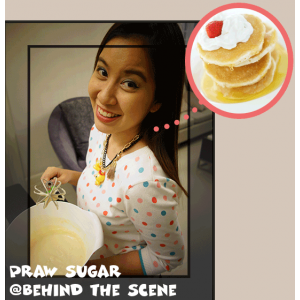 Behind the Scene no.1: The 1st collection & a Pancake gal