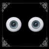 16 MM. star blue glass eyeball