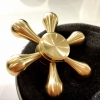 Golden Hexa Hand Spinner
