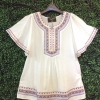 Lady Ancient Egyptian Embroidered Blouse