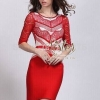 2sister made, Red Premium lace style Elizabeth
