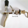 Draft Beer Faucet, adjustable