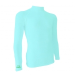 base layer สีBright blue-green