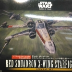 Star Wars: (2 Model Kits) 1/72 & 1/144 Red Squadron X-Wing StarFighter 3000yen