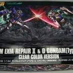 HGOOEXtra 1/144 Exia RepairII & O Gundam A.C.D. ( Clear Color Version)