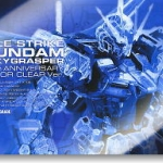 PG 1/60 Aile Strike Gundam+ SkyGrasper Clear Version 30th Anniversary