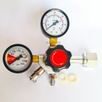 "Co2 Regulator with 1/4""MFL"