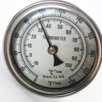 "3"" Dial Thermometer for kettle"