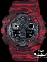 นาฬิกา Casio G-Shock Special Color Models รุ่น GA-100CM-4A Camouflage Series