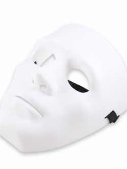 หน้ากาก Hiphop Jabbawockeez Mysterious White Mask