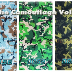 Headwear - The Camouflage Collections Vol.02 - 3 ผืน