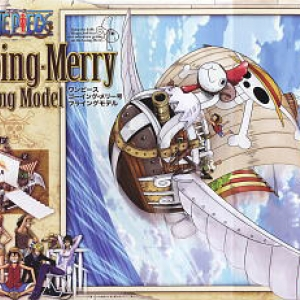 One Piece Non-Scale Plastic Kits:Going Merry Flying 5000yen