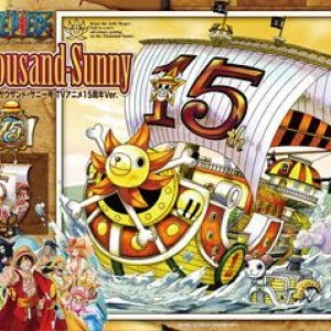 MG Thousand Sunny TV Animation 15th Year Anniversary Version 3800y
