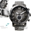 นาฬิกา Fossil รุ่น JR1437 Nate Chronograph Stainless Steel Watch - Smoke thumbnail 5