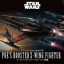 Star Wars: Poe's Booted X-Wing Star Fighter 2700yen thumbnail 1